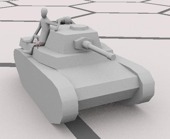 вальяжно-боковой танкодесантник