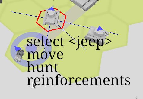 Main context menu