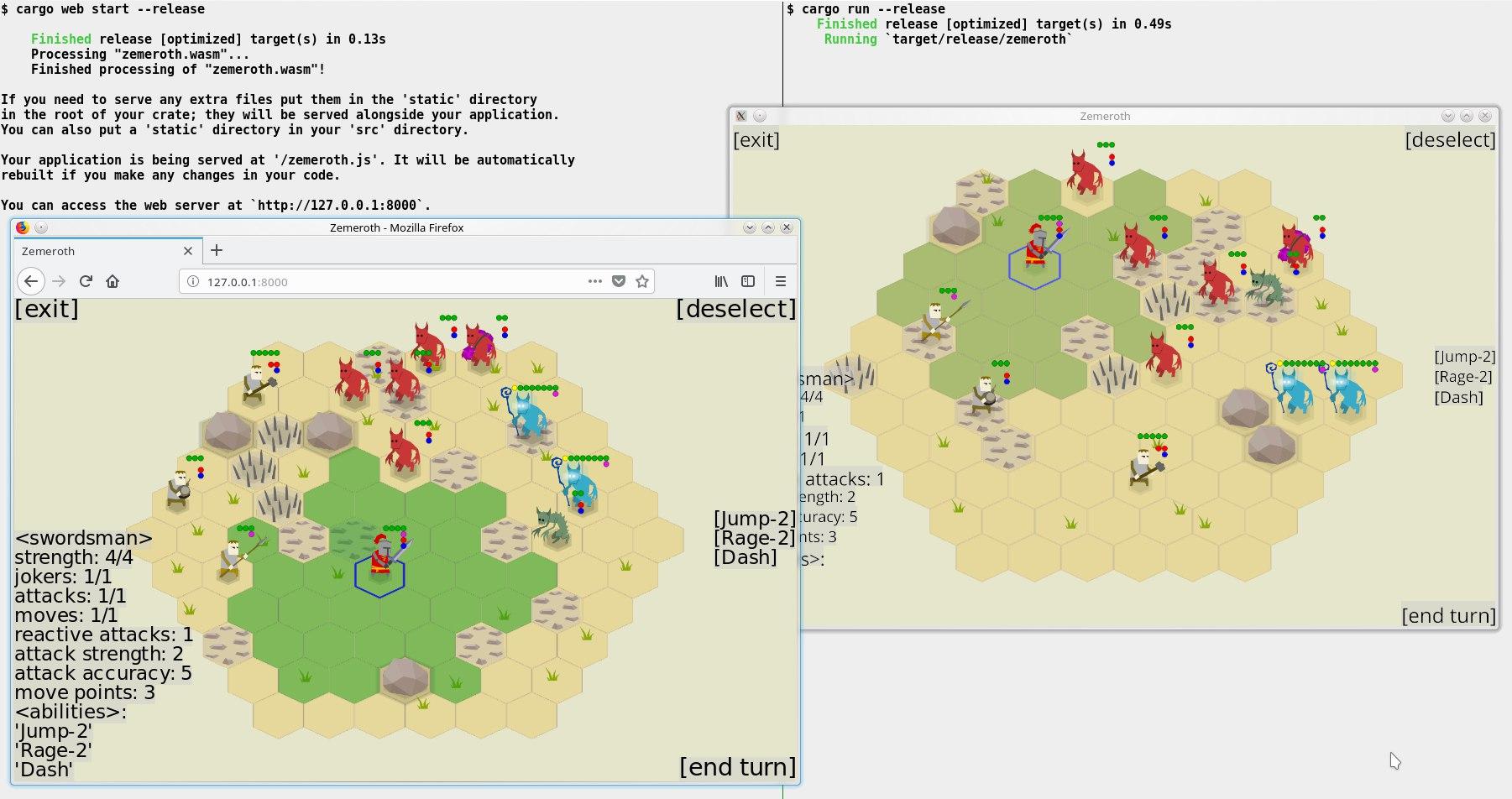 web version vs native