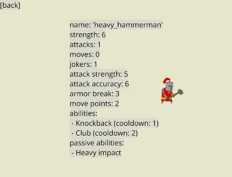 agent info screen